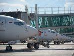 Bandar Udara Internasional Sultan Aji Muhammad Sulaiman (SAMS) Sepinggan Balikpapan tetap beroperasi dengan penerapan protokol kesehatan ketat