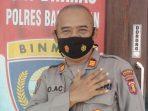 Kasat Binmas Polresta Balikpapan, AKP Eko Acnanto. Foto : BorneoFlash.com/ Muhammad Eko.