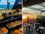 Takjil & Sunset : Nikmati lezatnya All You Can Eat Takjil ditemani pemandangan sunset memukau di Platinum Hotel & Convention Hall Balikpapan, Kamis (22/4/21).Foto : HO.