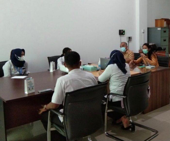 kegiatan pertemuan koordinasi antara BPJS Kesehatan dengan perwakilan apotek di Kabupaten Berau. Foto : HO.