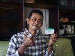 Imam Ghozali, salah satu warga Kota Balikpapan yang telah memanfaatkan program JKN-KIS. Foto : HO.