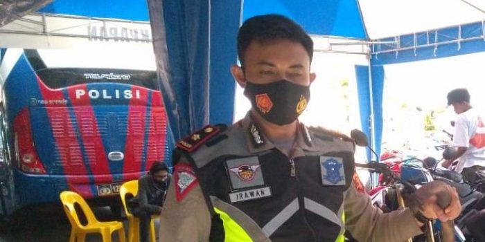 Kasat Lantas Polresta Balikpapan Kompol Irawan Setyono. Foto : BorneoFlash.com/Muhammad Eko.