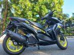 Yamaha Aerox Paling Jago di Kelasnya dan Desain Sporty Performa Paling Oke. Foto : HO.