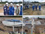 PT. Kayan LNG Nusantara menggenjot Pembangunan Kilang Mini LNG di Simenggaris, Kalimantan Utara. Foto : HO.