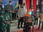 Juru Bicara Satgas Covid-19 Kota Balikpapan, Andi Sri Juliarty, melaporkan perkembangan kasus terkonfirmasi positif Covid-19 di Kota Balikpapan pada Jumat (9/7/2021). Foto : BorneoFlash.com/Muhammad Eko.