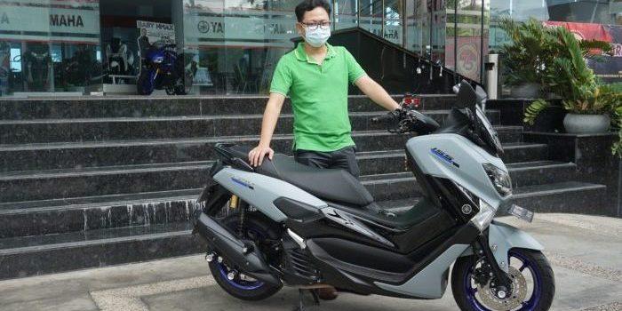 Michael Angga Alfino, adalah salah satu customer loyal Yamaha. Foto : HO.