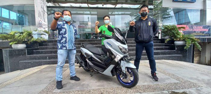 Yamaha Apresiasi Customer Loyal dengan Modikasi Gratis Nmax. Foto : HO.