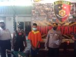 Tim Jatanras Polsek Balikpapan Barat berhasil mengungkap kasus pencurian kendaraan bermotor (Curanmor) yang terjadi di parkiran SDN 019 Kelurahan Marga Sari, Balikpapan Barat pada Rabu (21/7/2021) lalu. Foto : BorneoFlash.com/Muhammad Eko.