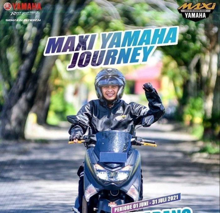 Gelaran kompetisi video dan foto terbesar dari Yamaha bertajuk Maxi Yamaha Journey tinggal menunggu hitungan hari sebelum resmi berakhir pada Sabtu, 31 Juli 2021.Foto : HO.