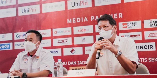 Ketua Harian Pengurus Besar Esports Indonesia (PBESI), Komisaris Jenderal Bambang Sunarwibowo, saat melaksanakan virtual zoom dengan awak media, Rabu (18/8/2021) lalu.