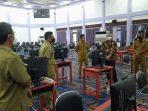 Pengecekan Fasilitas Tes CPNS di Paser