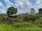 kebakaran hutan dan lahan (Karhutla) yang terjadi di kota Balikpapan beberapa Waktu lalu. Foto : HO.