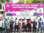 Farewell Party Kapolresta Balikpapan