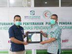 Tiga fasilitas kesehatan di Kota Balikpapan yang melakukan donasi kepada Peserta JKN-KIS. Foto : HO.