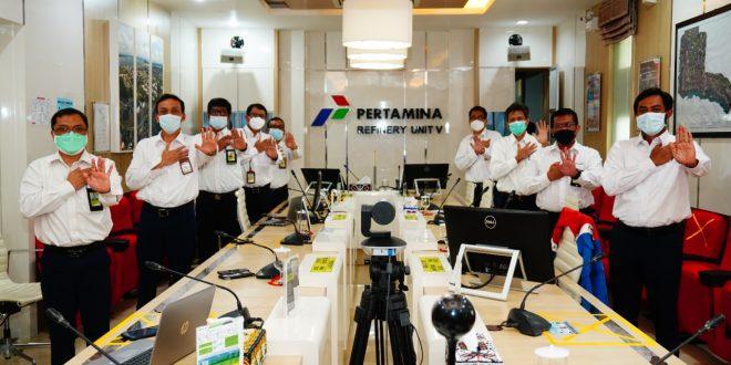 PT Kilang Pertamina Internasional (KPI) Unit Balikpapan turut mendukung dan melaksanakan komitmen Zero Harassment. Foto : HO.
