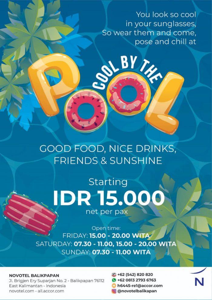 """Novotel-Ibis Balikpapan launching promo terbaru """"Cool By The Pool"""""""