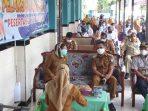 Pemerintah Kota Balikpapan Gelar vaksinasi Covid-19 peserta didik SMP 12 Balikpapan Senin (6/9/2021). Foto : BorneoFlash.com/Muhammad Eko.