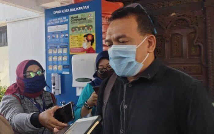 Anggota Badan Anggaran DPRD Kota Balikpapan, Syukri Wahid. Foto : BorneoFlash.com/Muhammad Eko.