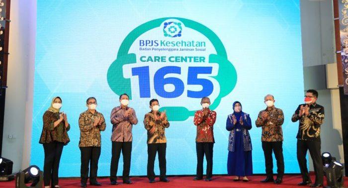 BPJS Kesehatan meluncurkan nomor layanan Care Center 165, simplifikasi rujukan thalasemia mayor dan hemofilia serta portal web Jurnal JKN. di Jakarta, Senin (13/09/2021). Foto : HO.