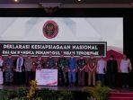 Badan Nasional Penanggulangan Terorisme (BNPT) melaksanakan deklarasi kesiapsiagaan nasional di Grand Senyiur Hotel Balikpapan, Senin (20/09/2021). Foto : BorneoFlash.com/Muhammad Eko.