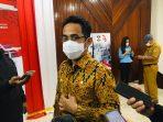 Wali Kota Balikpapan Rahmad Mas'ud saat di Wawancara Awak Media. Foto : BorneoFlash.com/Eko.