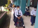 Dinas Pendidikan dan Kebudayaan (Disdikbud) Balikpapan memastikan persiapan terkait pelaksanaan Pembelajaran Tatap Muka (PTM) saat ini sudah mencapai 100 persen. Foto : BorneoFlash.com/Muhammad Eko.
