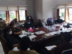 Dewan Perwakilan Rakyat Daerah (DPRD) Komisi I menggelar Rapat Dengar Pendapat (RDP) bersama Perkumpulan Lahan Warga Makmur (PLWM) pada Senin (27/9/2021) kemarin. Foto : BorneoFlash.com/Muhammad Eko.
