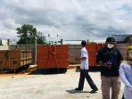 Kelurahan Gunung Samarinda bersama Lembaga Pemberdayaan Masyarakat (LPM) Gunung Samarinda, Balikpapan Utara secara resmi membuka Tempat Pembuangan Sampah (TPS) yang baru, Rabu (29/9/2021). Foto : BorneoFlash.com/Muhammad Eko.