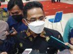 Wali Kota Balikpapan, Rahmad Mas'ud usai rapat koordinasi bersama Forkopimda, Selasa (5/10/2021). Foto : BorneoFlash.com/Muhammad Eko.