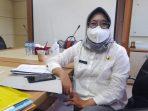Kepala Dinas Kesehatan (Dinkes) Kota Balikpapan, Andi Sri Juliarty saat ditemui Rabu (6/10/2021). Foto : BorneoFlash.com/Muhammad Eko.