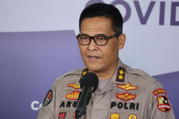 Kepala Divisi (Kadiv) Humas Polri Irjen Argo Yuwono. Foto : HO.