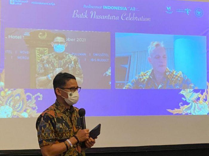 Menteri Pariwisata dan Ekonomi Kreatif, Sandiaga Salahuddin Uno. Foto : HO.